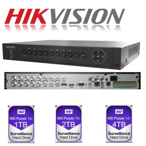 Hikvision DVR CCTV Camera System