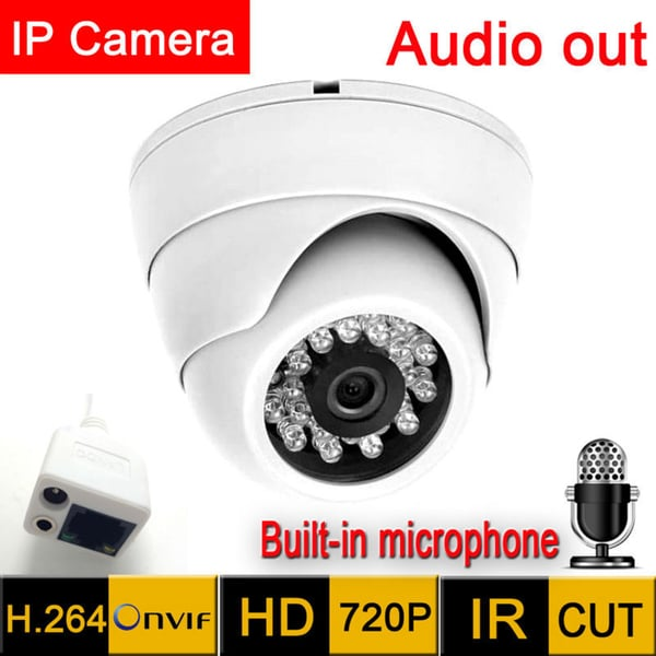 5MP HD Dome Security Camera with Audio