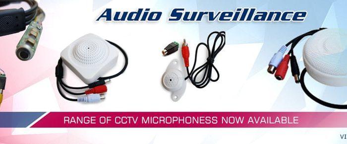 CCTV Camera Installations with Audio