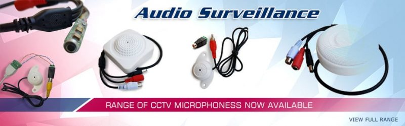 CCTV Camera Installations with Audio