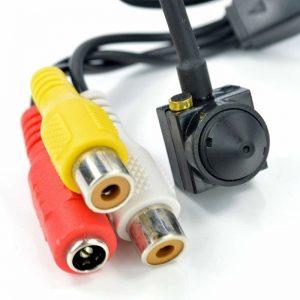 CCTV with audio
