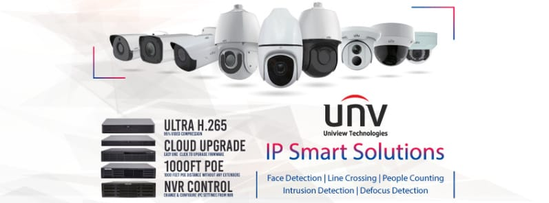 Uniview CCTV Camera Installations