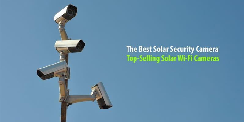 Solar CCTV Contractors for building sites