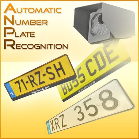 Qvis 3MP Licence Plate Recognition Camera