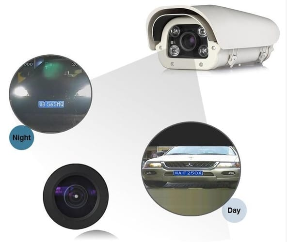 Qvis Licence Plate Recognition Camera